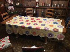 Vintage Quilt....Grandma's Flower Garden....