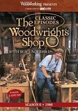 NEW! The Woodwright's Shop with Roy Underhill Season 6 [DVD]