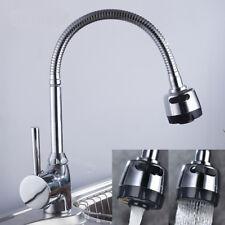 Durable Kitchen Swivel Twist Mixer Tap Sink Basin Bathroom Deck Mounted Spout