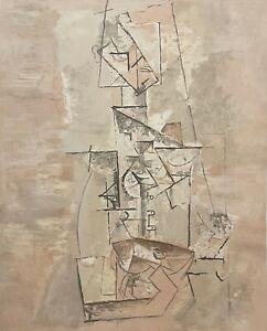 "PABLO PICASSO ""Femme a la Mandoline"" Limited Edition Lithograph - Marina Picasso"