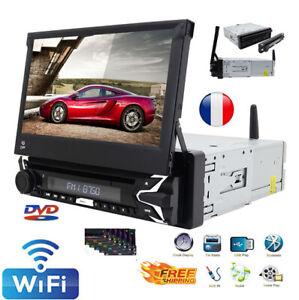 "7"" 1Din Universal DAB+Android10 32GB Autoradio GPS Navigatore DVD WiFi Bluetooth"