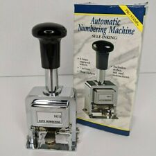 Rogers Automatic Numbering Stamp Machine Self-Inking