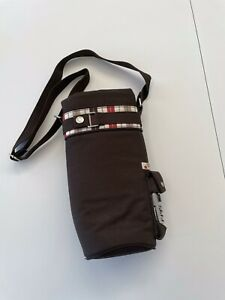 Picnic Time Insulated Single Wine Bottle Tote Bag Carrier