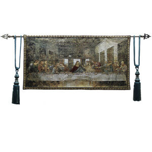 Belgian Tapestry Christ Jesus Fresco Leonardo da Vinci Last Supper