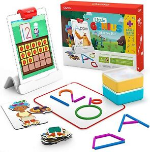 Osmo - Genius Starter Kit for iPad + Early Math Adventure - 6 Games Ages 3-5