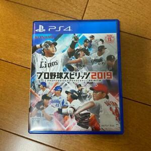 PS4 Professional Baseball Spirits 2019 Playstation 4 Japan Import