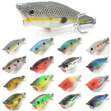 5PCS Fishing Fish Floating Popper lure Lures hook baits 6cm/10.5g
