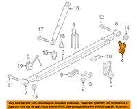 GM OEM Rear Suspension-Leaf Spring 23401107