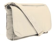 Mens Canvas Messenger Shoulder Bag Boys Crossbody Laptop Manbag