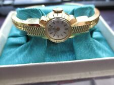 vintage boxed newmark, mechanical watch,,sold as is