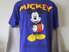 Disneyland Orlando Florida Mickey Mouse T-Shirt Purple Minnie Mouse Size Large
