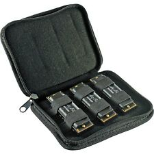 New! Hohner Hoodoo Blues Harmonica Harp 3 Pack with Case  Key of C - D - G