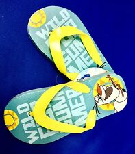 Girls Kids Children Adventure Design Flip Flops UK 8 9 10 11 12 13 Sizes