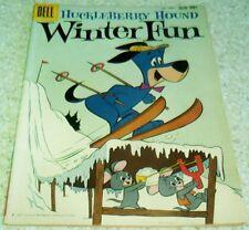Hanna-Barbera Huckleberry Hound Winter Fun FourColor 1050, VF- 7.5 50% off Guide