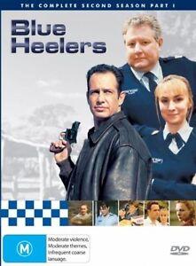 Blue Heelers Season 2 Second Series - PART 1 DVD (5 DISC SET) OVER 14 HOURS