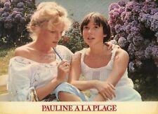 ARIELLE DOMBASLE PAULINE A LA PLAGE 1983 ERIC ROHMER VINTAGE PHOTO #2
