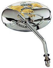 RIDE TO LIVE OVAL MIRROR HARLEY DYNA FXD SUPER GLIDE FXDL LOW RIDER WIDE GLIDE