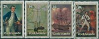 Cook Islands 1979 SG628-631 Cook Bi-centenary set MNH