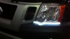 LED DRL Head Light Strips Daytime Running Lamps Kit for Nissan Xterra