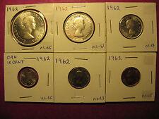1962 Canada Mint State set