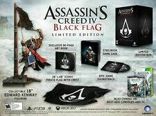 ASSASSIN'S CREED IV: BLACK FLAG PS3 LIMITED EDITION BOX SET COMPLETE PACKAGE!!!!