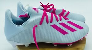 Adidas X 19.3 FG Firm Ground Soccer Cleats FV3470 Pink Mens Size 8 new with tags