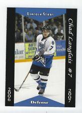 2006-07 Lincoln Stars (USHL) Chad Langlais (Rouen)