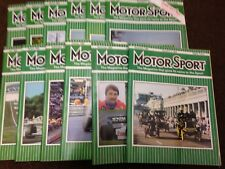 Motor Sport Magazine -  Complete Year of 1985 (12 editions) - Motorsport