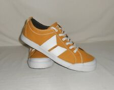 Men's Sz. 12 Macbeth Footwear Vegan Product Eliot Ochre/White Trainer Shoes