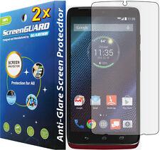 2x Anti-Glare Matte Lcd Screen Protector Guard Cover Motorola Droid Turbo Xt1254
