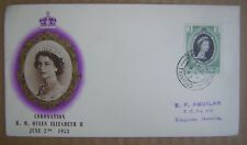 June 2nd 1953 Coronation of H.M. Queen Elizabeth II First Day Issue Cover