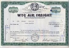 Wtc Air Freight Stock Certificate California