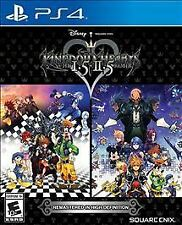 Kingdom Hearts HD 1.5 + 2.5 Remix USED SEALED (Sony PlayStation 4, 2017)
