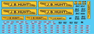 N Scale - Semi-Trailer JB Hunt