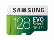 Samsung 128GB (U3) MicroSD EVO Select Memory Card with Adapter