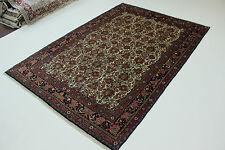 Sherkat ROSES bidjari très fine PERSAN TAPIS tapis d'Orient 3,07 X 2,10
