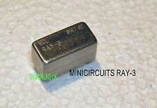 MINICIRCUITS RAY-3 LEVEL 23 (+23dBm) FREQUENCY MIXER 0.07~200MHZ PLUG-IN