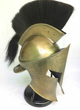 Medieval Helmet – 300 Spartan Leonidas Armor – Antique Finish WITH STAND