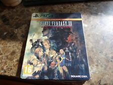 Final Fantasy XII The Zodiac Age Limited SteelBook Sony PlayStation 4 PS4 PAL