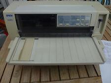 Epson lq-680 pro 24 las impresoras matriciales impresora matricial escáner plano médico práctica receta btm
