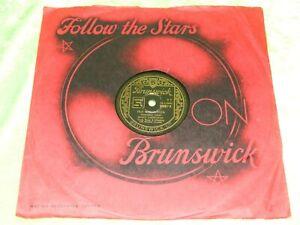 HOAGY CARNICHAEL : Old Man Harlem / Star Dust - Orig 1948 UK Brunswick 78rpm 219