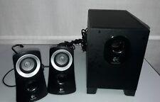 Logitech Z313 Sistema di Altoparlanti 2.1 per PC, Jack da 3.5 mm, Nero