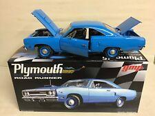 ROAD RUNNER CORPORATE / PETTY BLUE  426 HEMI 1970 PLYMOUTH GMP 1/18  #18801 dtd