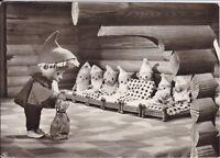 alte AK Sandmann (DDR-Kinderfernsehen), Sandmann bei den sieben Zwergen