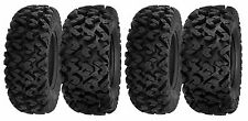 (2) New 26x9-12 & (2) 26x11-12 Sedona Rip Saw 6-Ply Radial ATV / UTV Tire Set