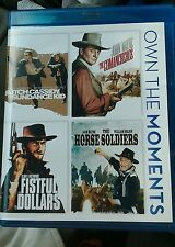 Butch Cassidy and the Sundance Kid/The Comancheros/A Fistful of Dollars/Horse.