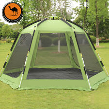 5-8 Person Automatic Tent Bedroom Double Layer Family Drom Outdoor Camping Tent