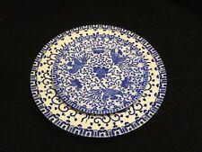 "2 Blue & White Phoenix China Plates With Birds-6"" & 8 1/2""-Morimura Bros?  #2568"
