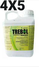 Désherbant Glyphosat TREBOL (TRÉFLE) 4x5 L sel d'isopropylamine 36%p/v 360 g/l