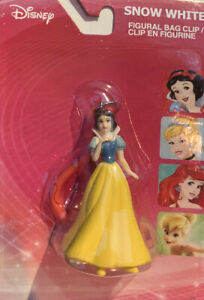 """Snow White Disney Figure Ornament Bag Clip Purse Backpack Lunchbox Stocking 2"""""""